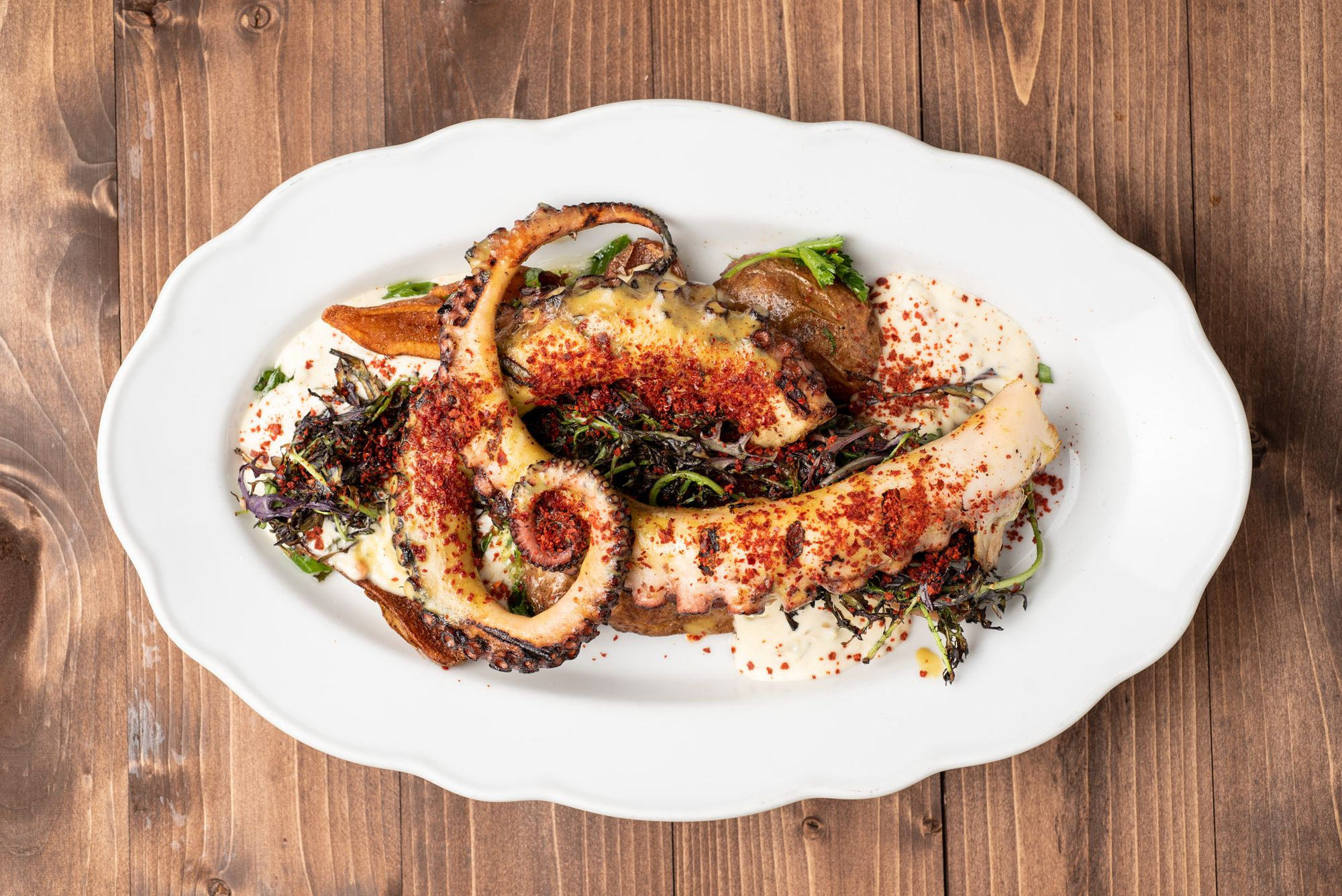 Picture of Charred Octopus From Preux and Proper Restaurant