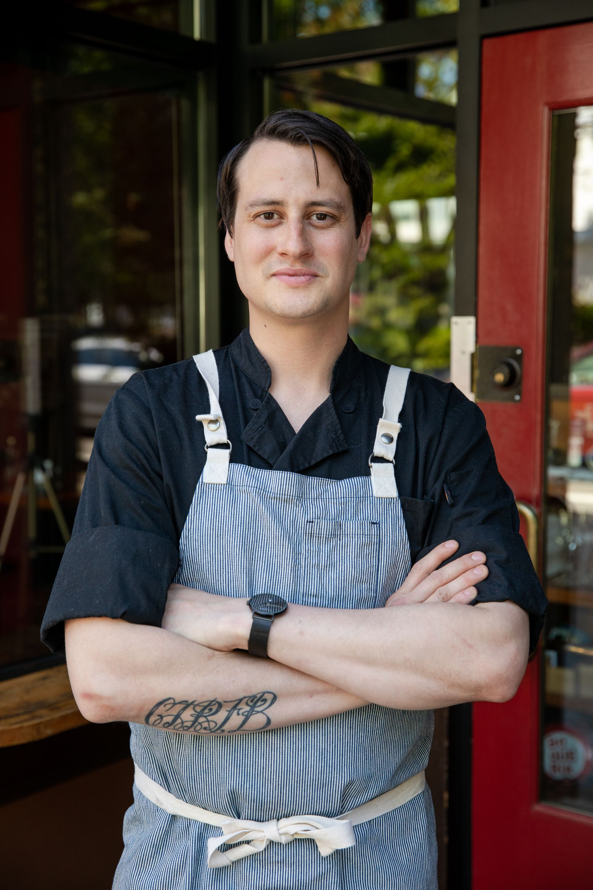 Picture of Chef Nicolas St. Arnold of Toro Bravo, Portland