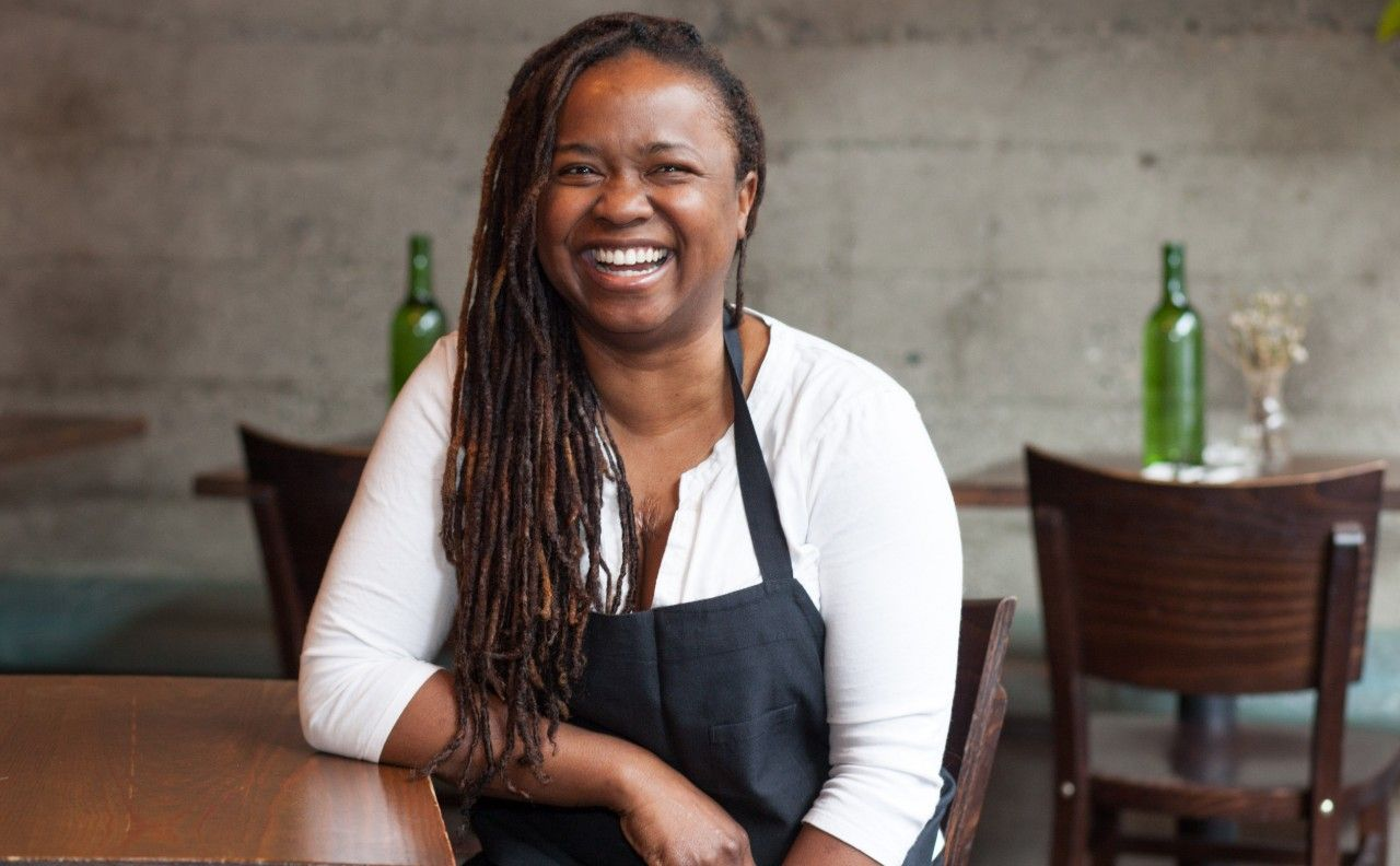 Picture of Chef Makini Howell in Seattle from Plum Bistro