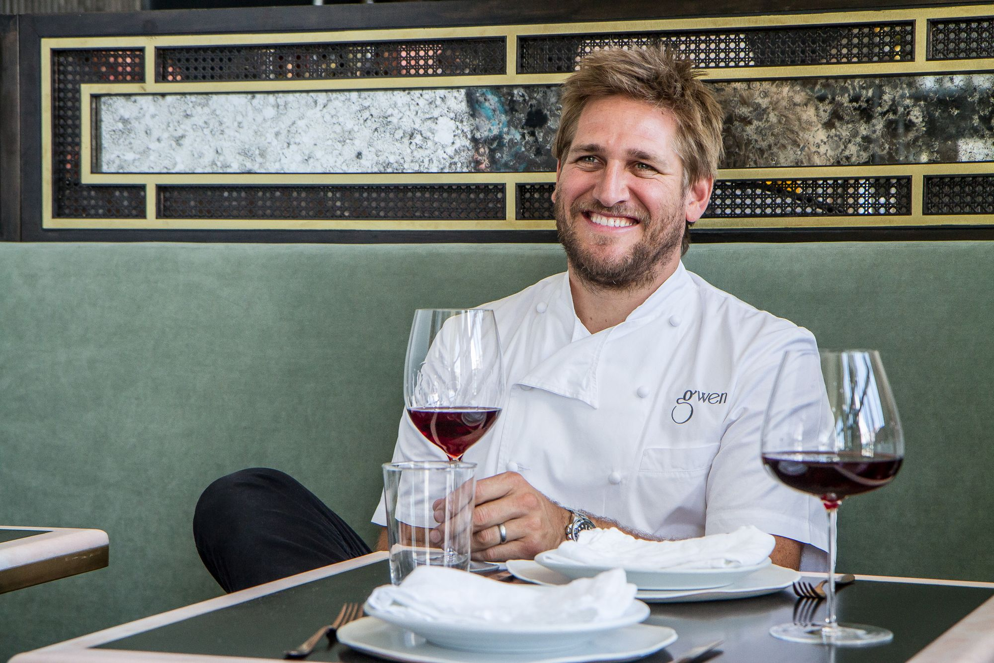 Picture of Chef Curtis Stone from Gwen Restaurant in LA