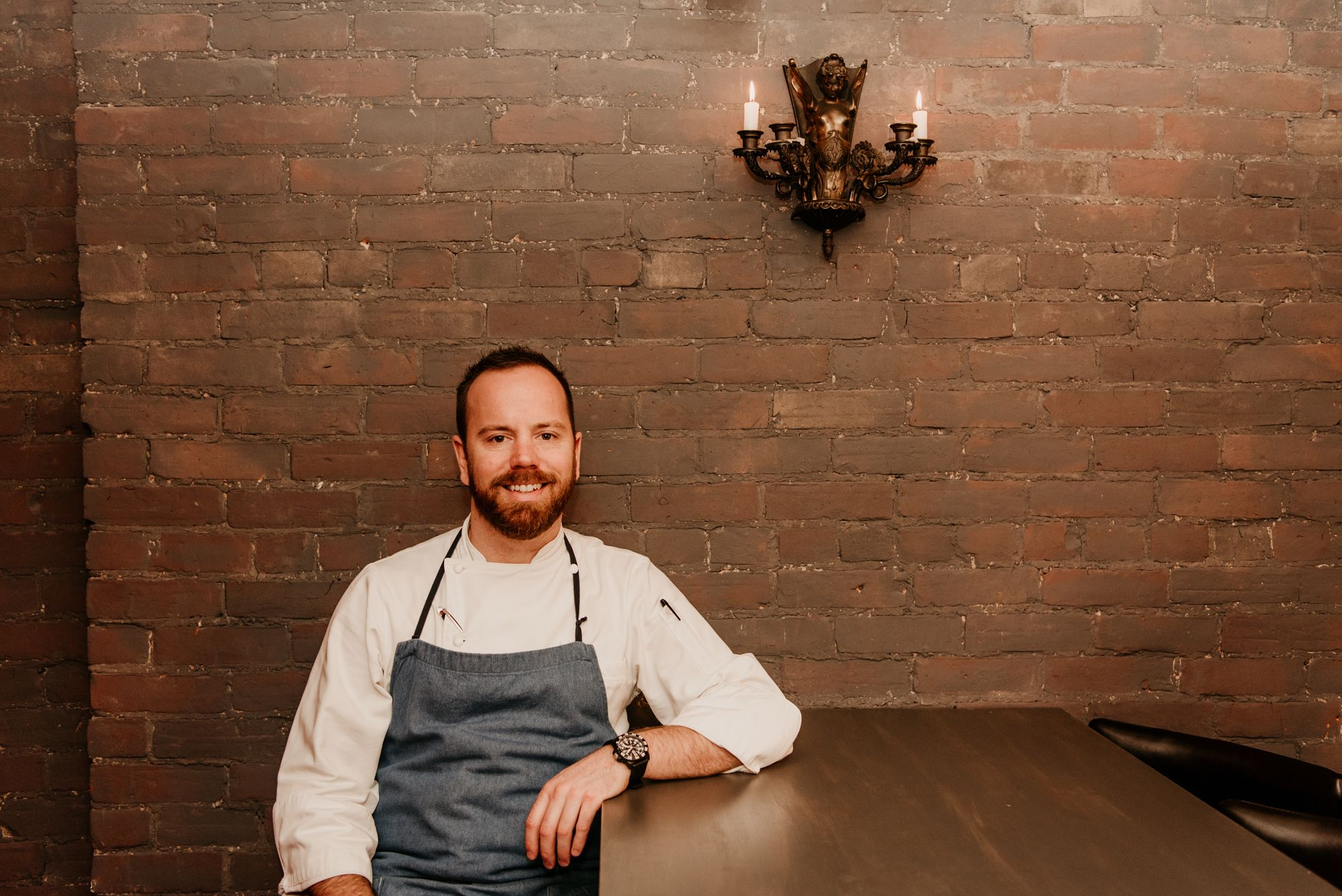 Picture of Chef Ryan Campbell of Il Covo Restaurant in Toronto, Canada