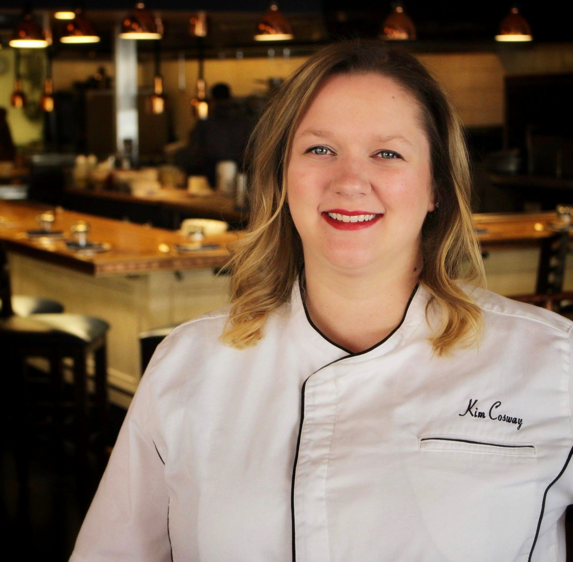 Picture of Chef Kimberley Cosway, The Executive Chef of Heartwood Provisions in Seattle.