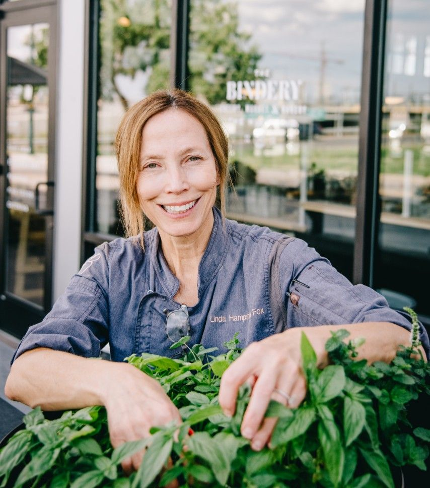 photo of Chef Linda Hampsten Fox