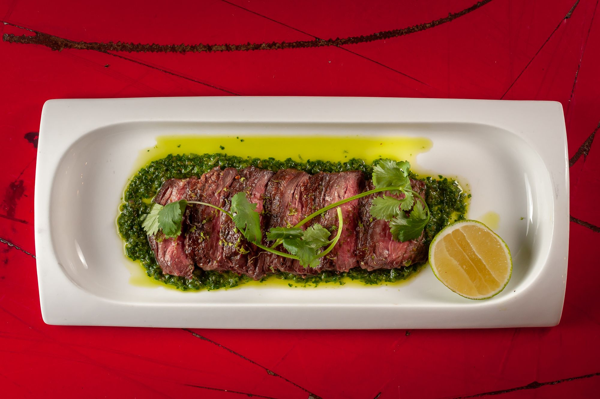 Picture of Skirt Steak With Chimichurri