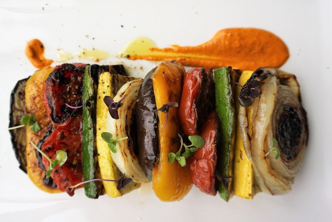 picture of grilled ratatouille