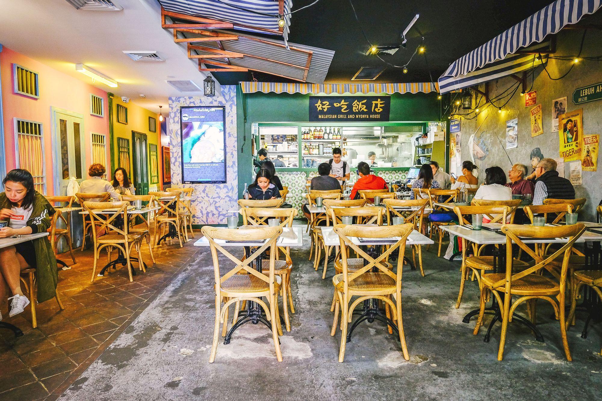Picture of Ho Jiak restaurant interior