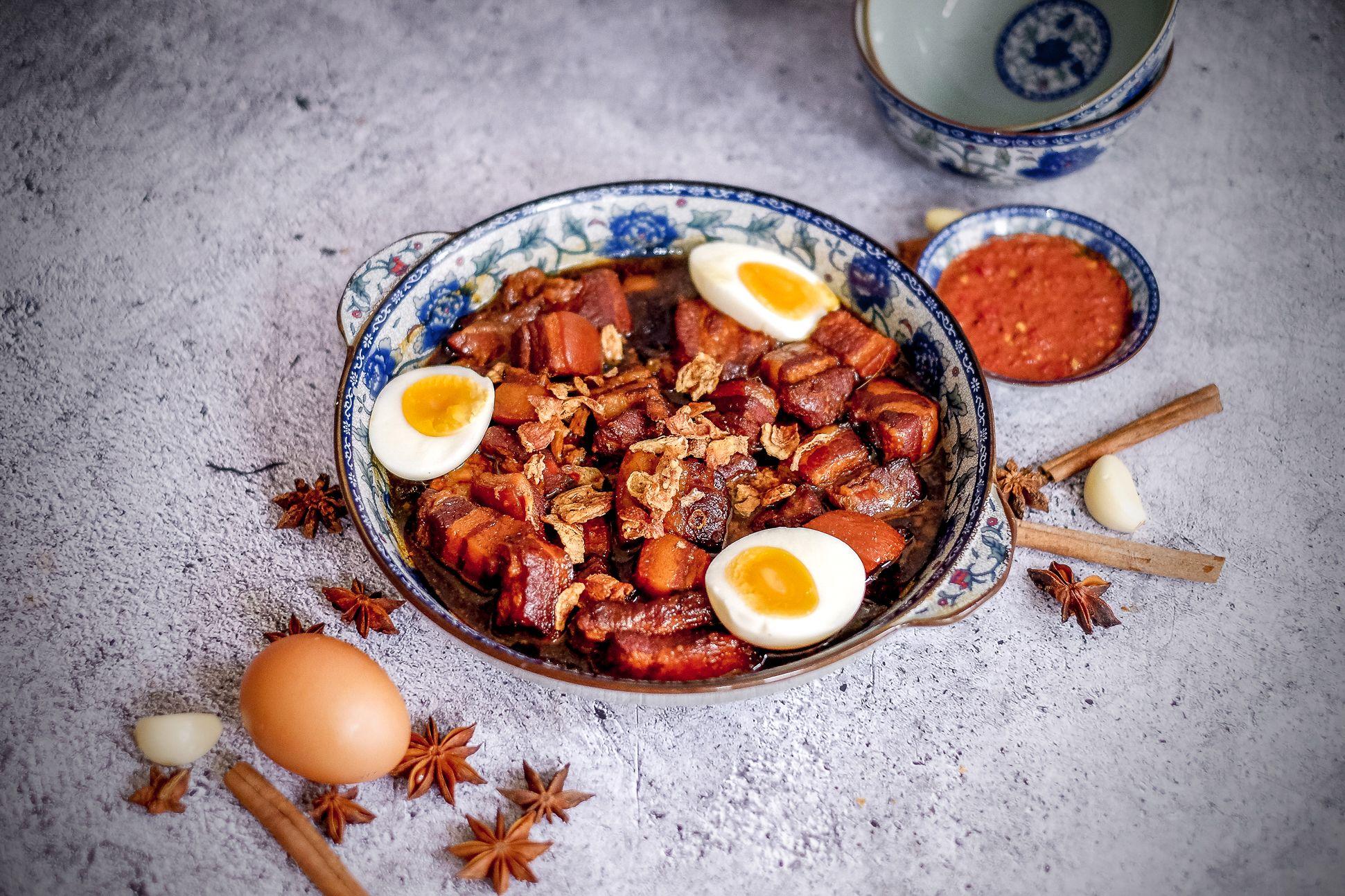 Picture of Tau Eu Bak in a bowl